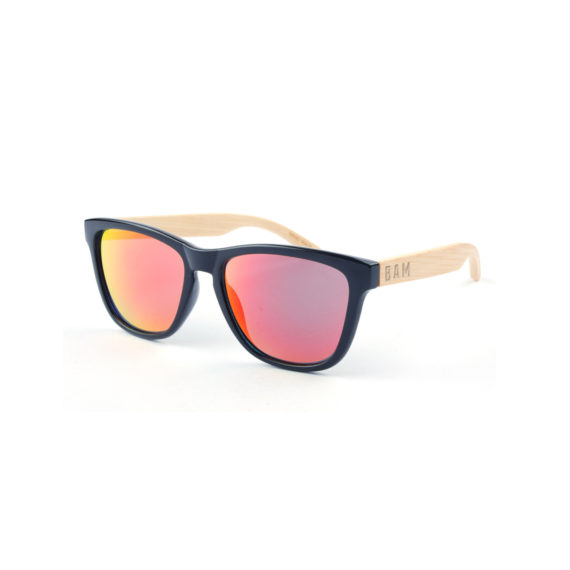 Coconut Bamboo Sunglasses (Red)